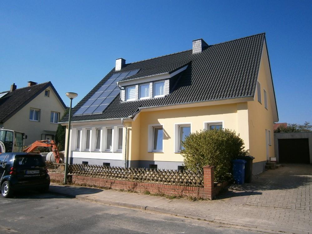 Energetische Sanierung eines 2-Familienhauses in Osnabrück