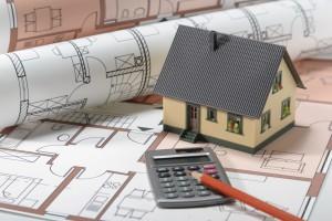 Hausbau Bauplan