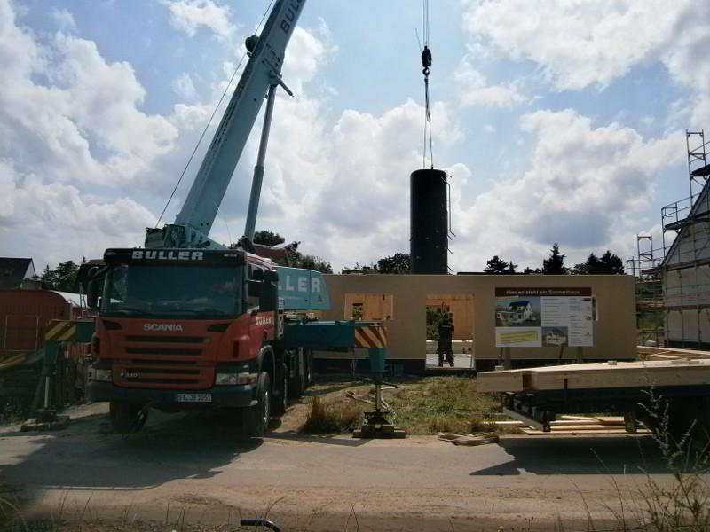 Neubau des ersten Sonnenhauses in Osnabrück