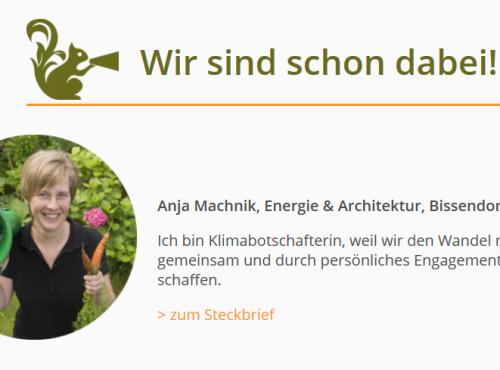 Klimabotschafterin des Landkreises Osnabrück