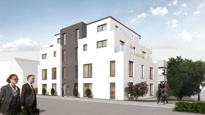 Neubau eines Mehrfamilienhauses in Osnabrück