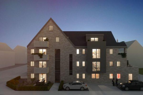 Neubau eines Mehrfamilien-Solarhauses in Osnabrück