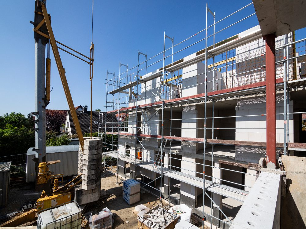 Neubau Mehrfamilien-Sonnenhaus in Osnabrück